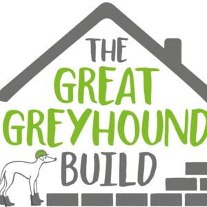 The great greyhound build logo white background listing